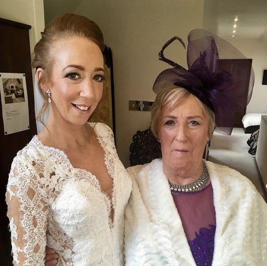 Rachel and her mum