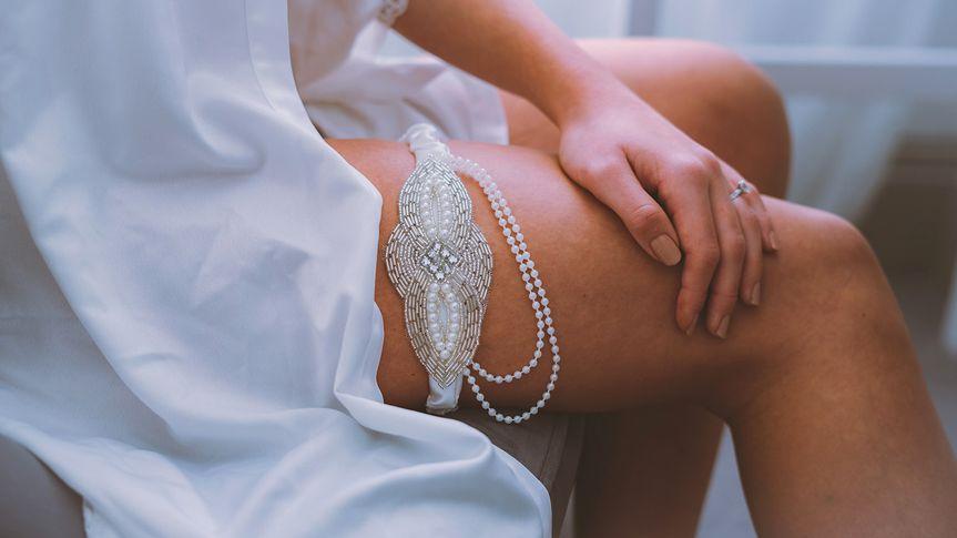 Zinnia garter