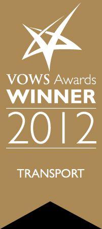 Vows Awards winner 2012