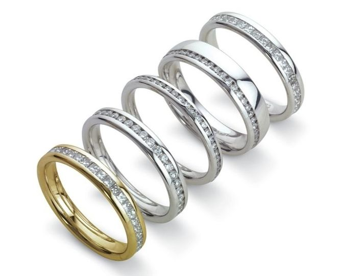 Full eternity wedding bands
