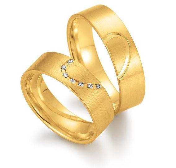 Gerstner wedding rings