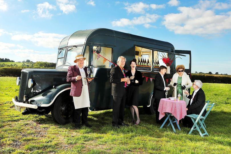 Mobile Bar Services 1940s mobile bar 1