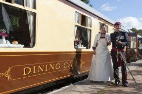 Dining Car & Wedding