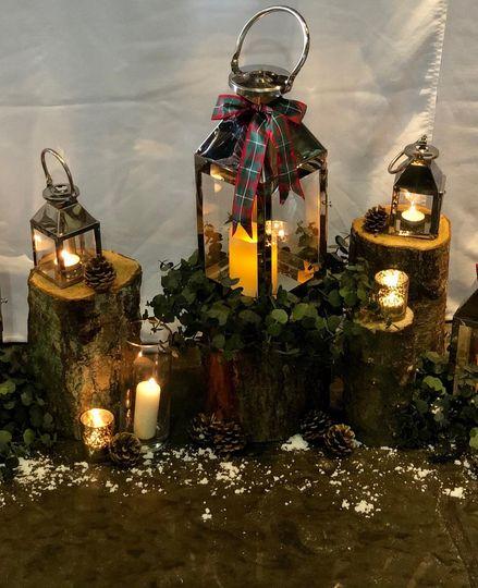 Christmas top table