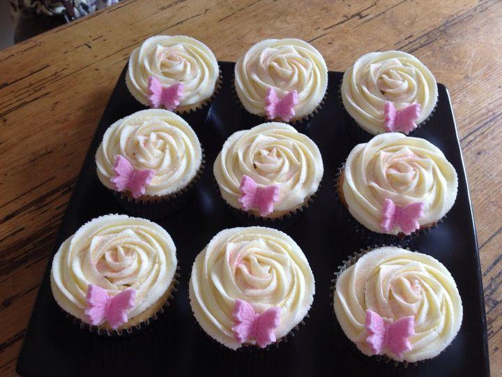 Very Vanilla Pretty Cupcakes