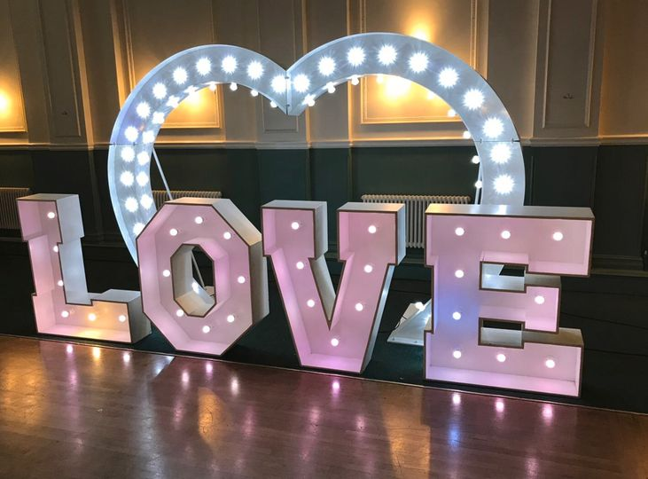 LOVE Arch and Letter