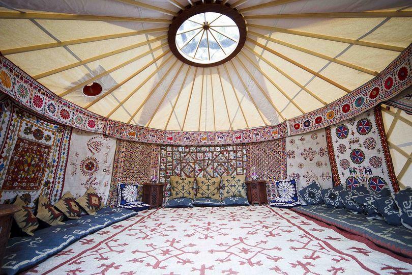 Decorative Hire Hooe's Yurts 2