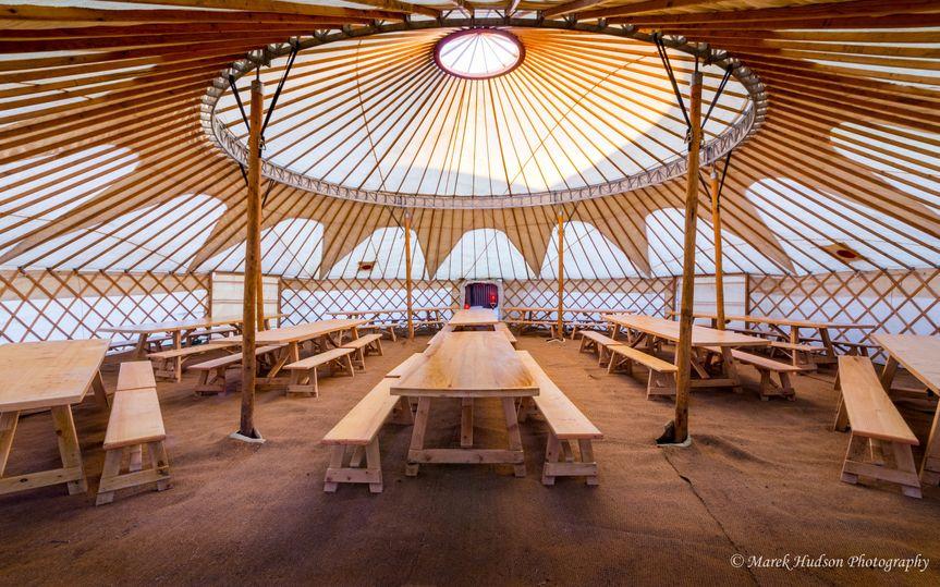 Decorative Hire Hooe's Yurts Furnishings 17