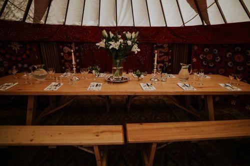 Decorative Hire Hooe's Yurts Furnishings 20