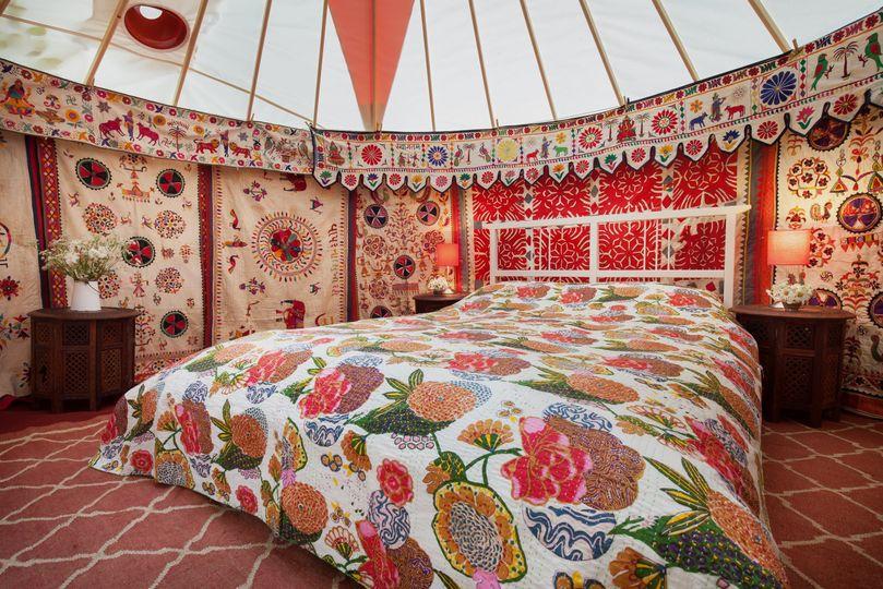 Decorative Hire Hooe's Yurts Furnishings 22