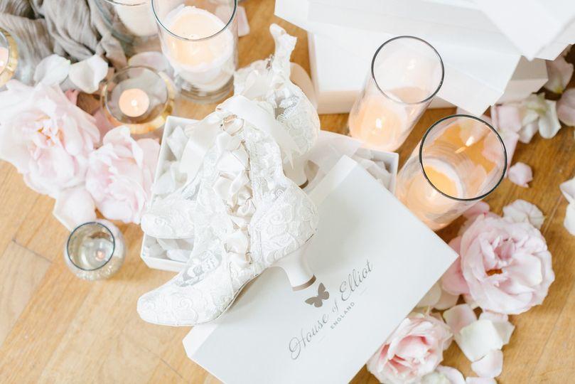 'Lizzie Elliot' Lace Boots