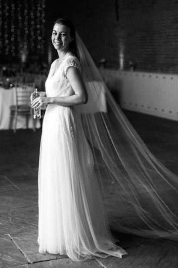 Smiling bride - JDS Weddings