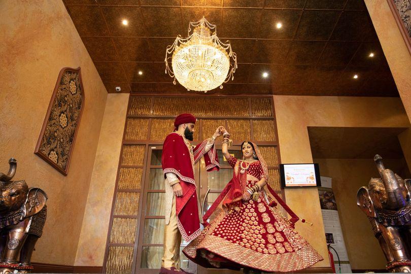 Hindi wedding, Harrow