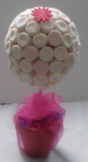Marshmallow sweet tree