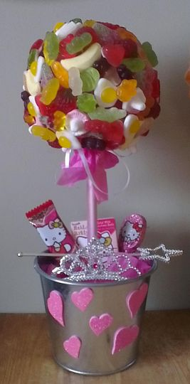 Hello kitty themed pick and mix