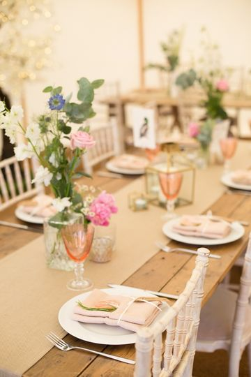 Piece of Cake Table Setting