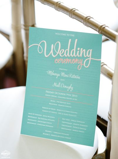 Stationery WEDFEST 47