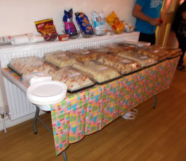 Buffet for Parkinson's Society