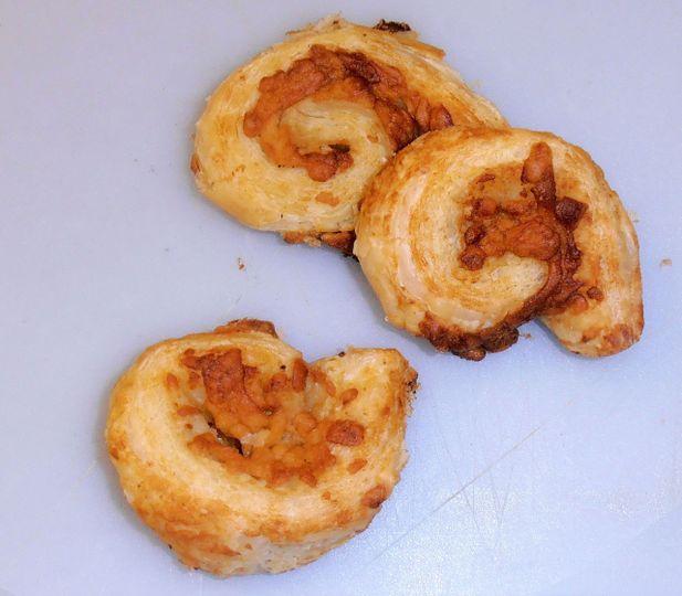 Cheese and Marmite Swirls