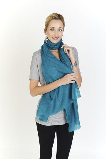 Custom Colour Cashmere Wrap