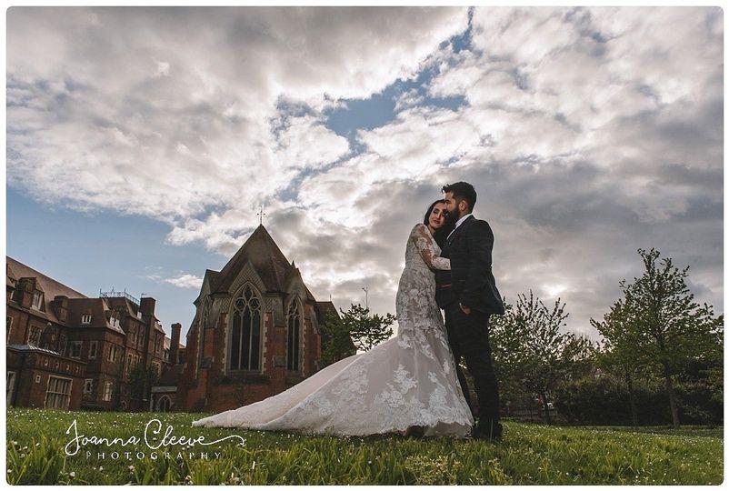 Couple embracing - Joanna Cleeve