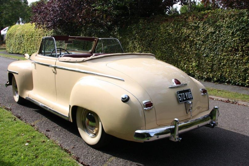 1946 Plymouth Convertible