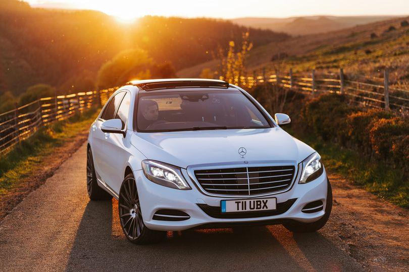 Mercedes Glitter S Class