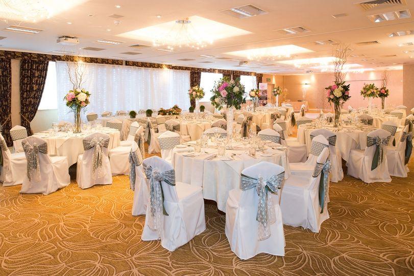 Barton Suite wedding reception