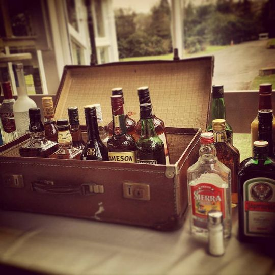 Spirits suitcase