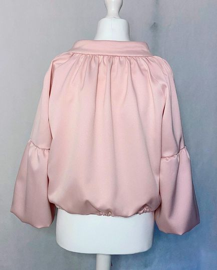 This Two pieces Pastel Pink Su