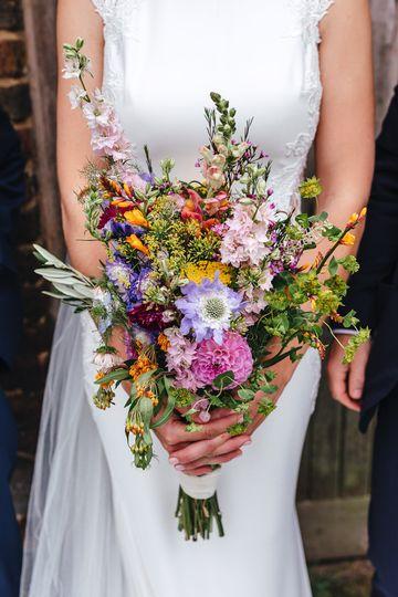 Florist Larkspur and Lavender