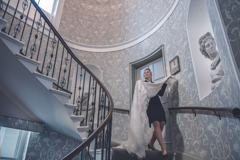 The White House Reception Staircase