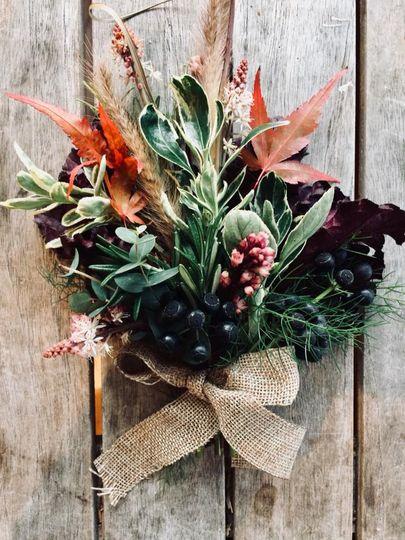 Autumn corsage