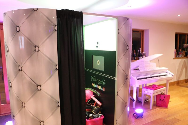 Photo booth hire for birthday