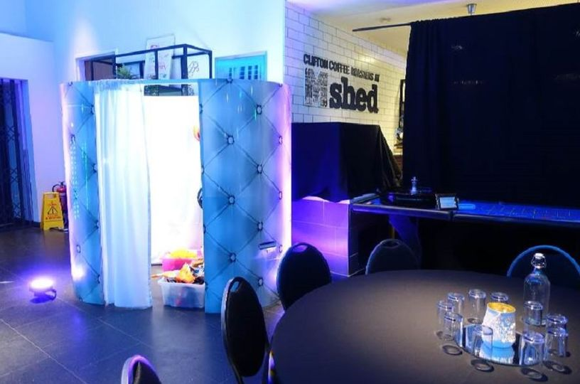 Photo booth at Shed