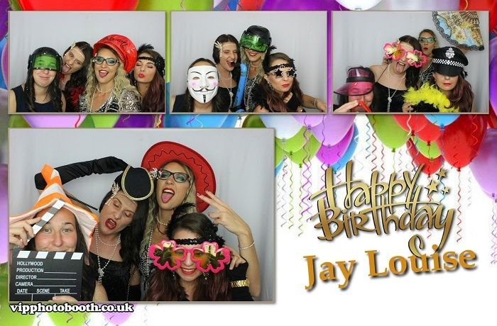 Personalised photo booth design