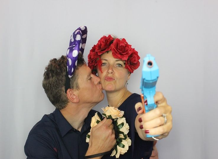 Few photo booth photo examples