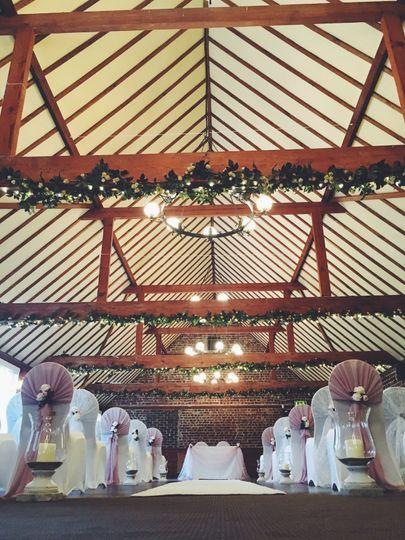 The Hop Farm Whites ceremony area
