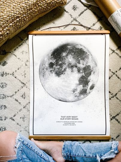 Design your own moon print