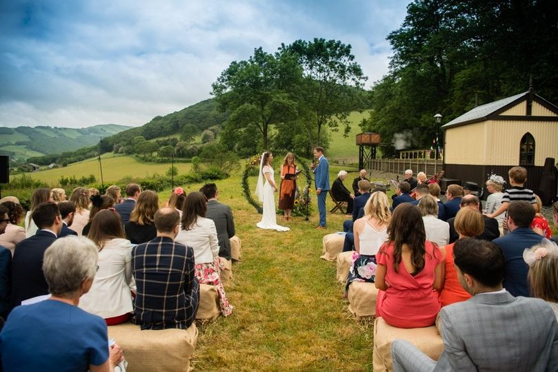 Countryside ceremony