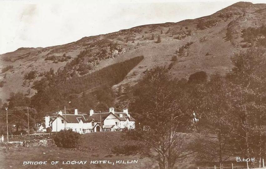 Bridge of Lochay vintage photo
