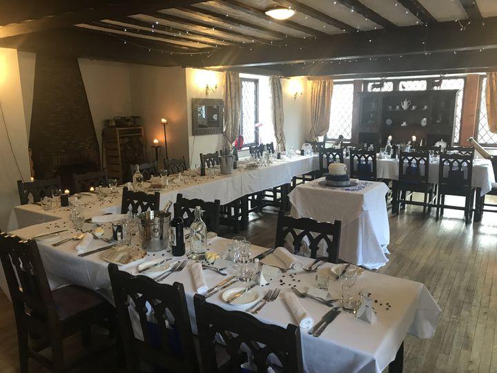 Riverside Set up for Wedding