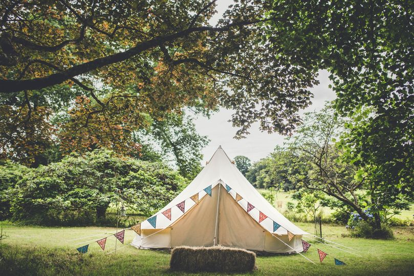 Glamping in the Dorothy Garden