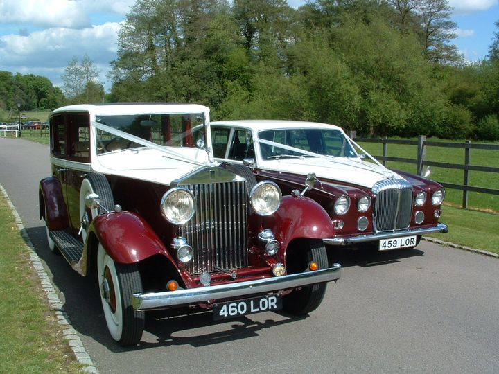 Rolls-Royce & 7 seat daimler