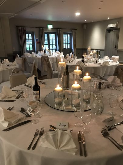Wedding breakfast, Sussex room