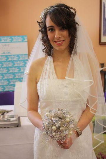Wedding brooch bouquet buy or hire