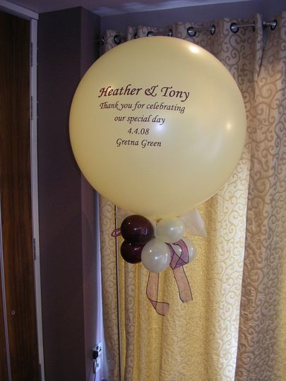 Personalised 3ft Balloon