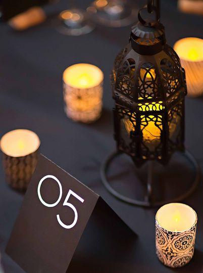 Sample Wedding Table