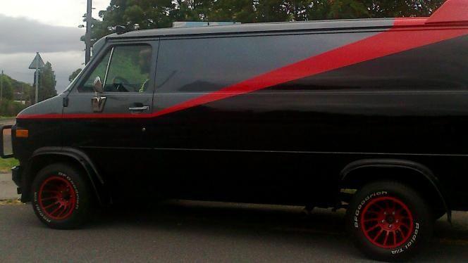 The A Team van hire