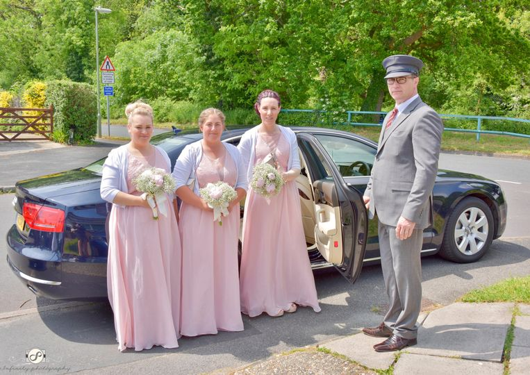 Three lovely Bridesmaids